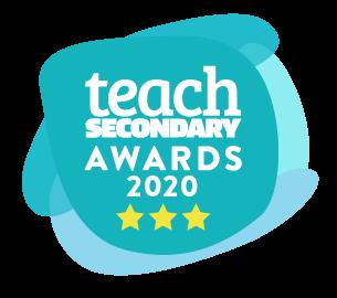 Teach Secondary 2020 Winner Badge