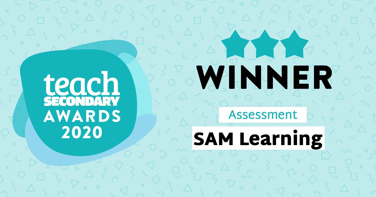 Teach Secondary 2020 Winner_ SAM Learning