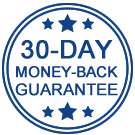 30 day money back guarantee from SAM Learning